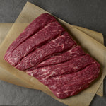 Flap Meat Steak Usa Blue Ox Choice Black Angus