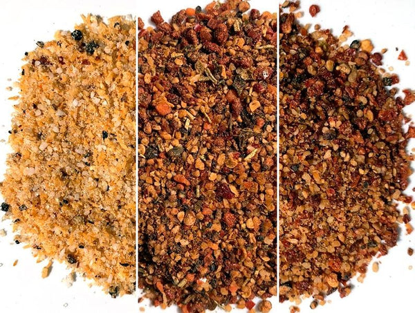 BETA TEST Sal's Seasoning New Combo Spicy Rub  - 3 x 120 grammi
