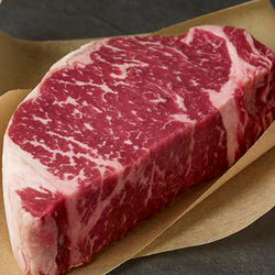 New York Strip Steak AUS Jack's Creek Black Angus 3+