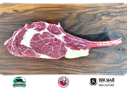 Tomahawk  Steak Irl Emerald Green Grass Fed