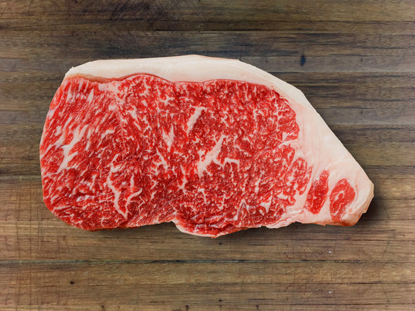 Sirloin Shimofuri Farms Wagyu Japanese Black