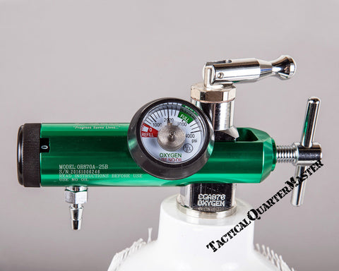 Oxygen Regulator: Pin Index 3000Psi