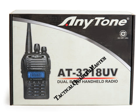 AnyTone AT-3318 Dual Band Hand Held Radio