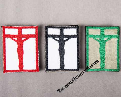Badge Crucifix: Set of 3 Colours