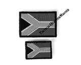 Badge Flags: Set of 2. Small.