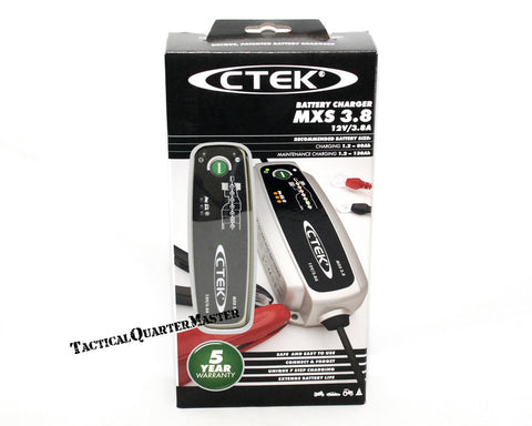 C-TEK MXS3.8 Battery Charger 14.4/14.7v 3.8A