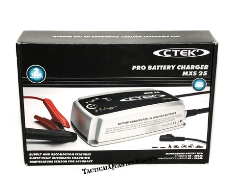 C-TEK MXS25 Battery Charger