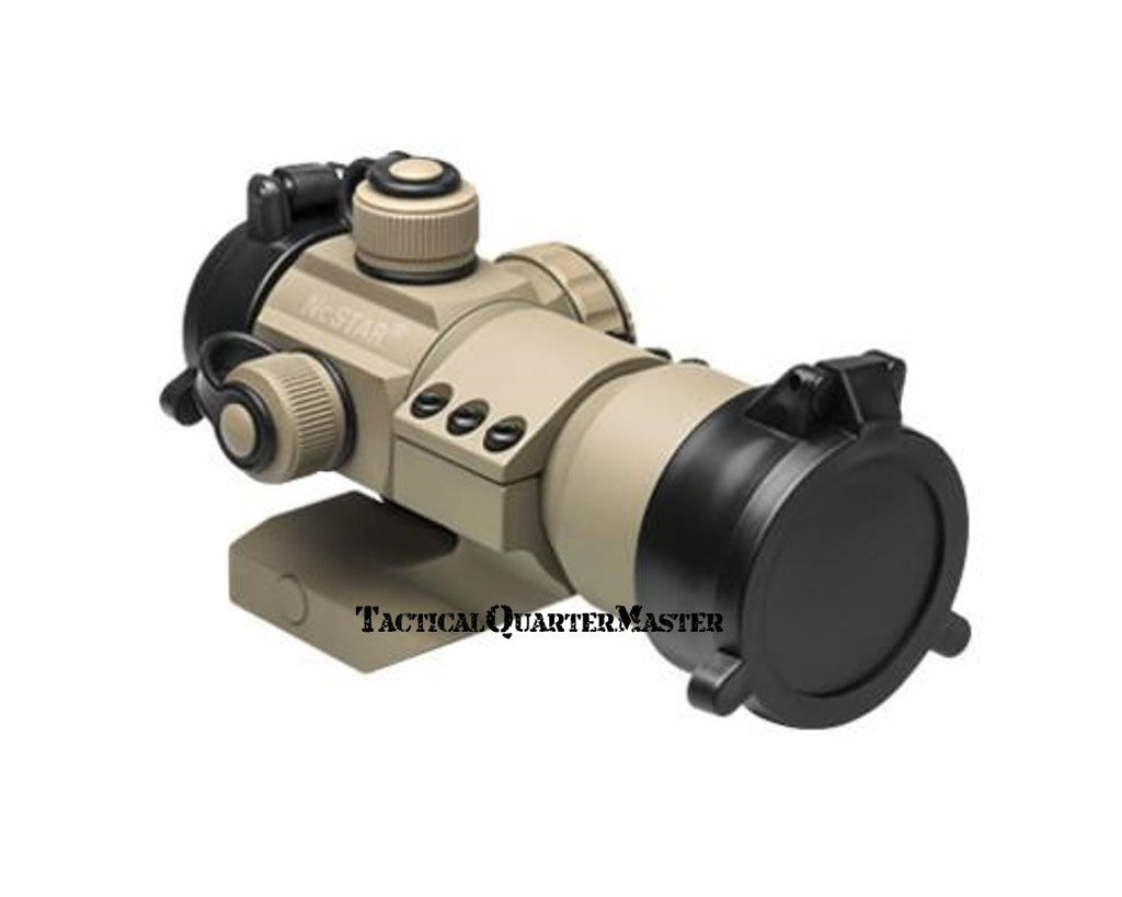 Cantilever 35mm Red, Green and Blue Dot Sight - Tan