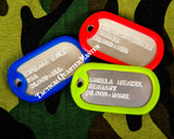 DoG TaGs With Chain and Silencer