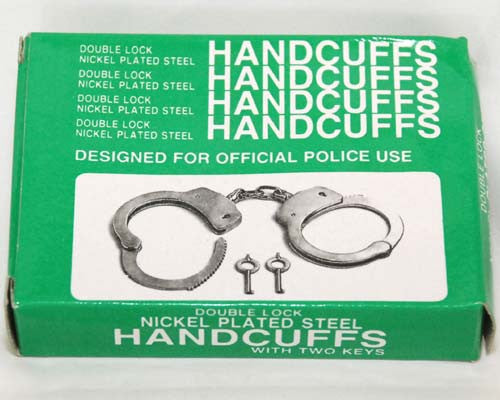 Handcuffs Nickel Plated