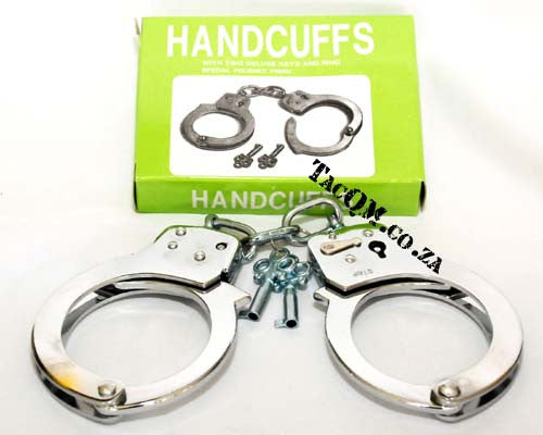 Handcuffs with Polished Finish