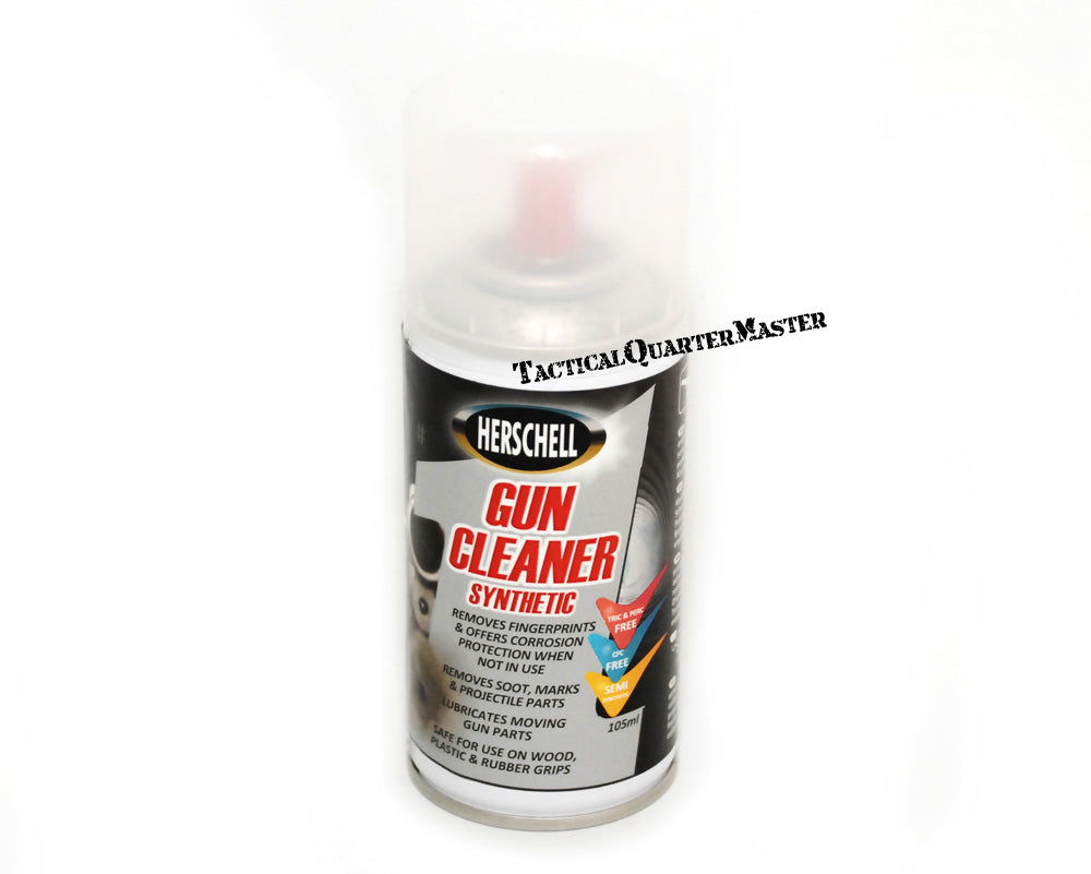 Herschell Gun Cleaner Spray 105ml Pocket Size Can