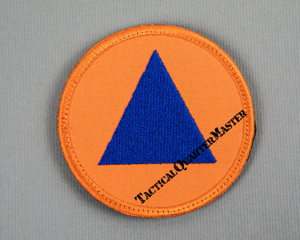 Civil Defence Patch 70mm