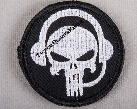 Patch: Punisher Skull w/i Comms Gear