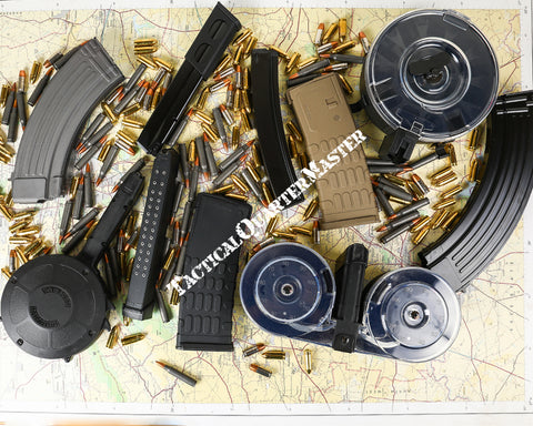 KCI Rifle, Pistol, SubGun and Drum Magazines.