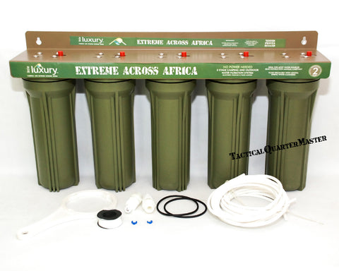 5 Stage Water Filtration System