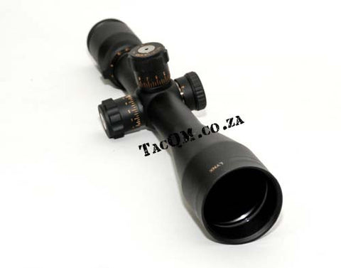 Lynx LX2 2.5-15 X 50 with Tactical Turrets and Range Finding Reticle