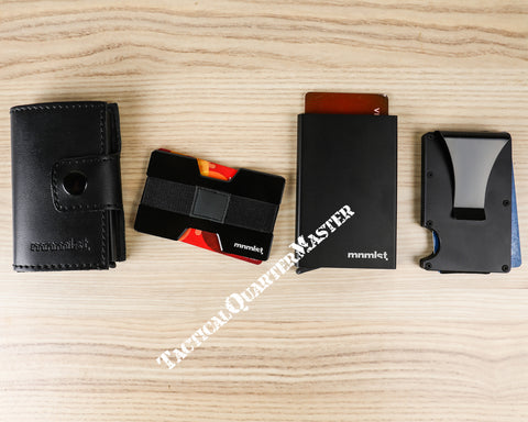MNMLST Wallet Card Holders