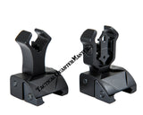Folding Sight Set Front and Rear