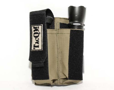 Adjustable Double Mag Pouch Large Pistol - Green