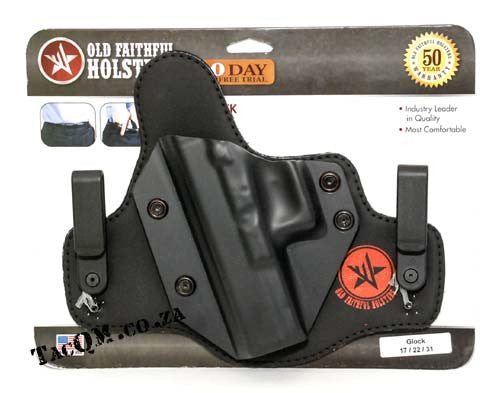 Old Faithful Stealth Tuck Hip Holster - Left Hand - Glock 17