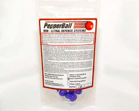 Pepperball Purple Training Rounds