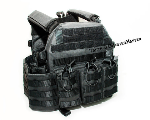 TacQM Chest Rig Plate and Gear Carrier