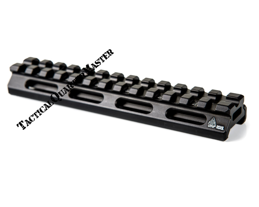 UTG Super Slim long Riser: 12.7mm Low (13 Slot)