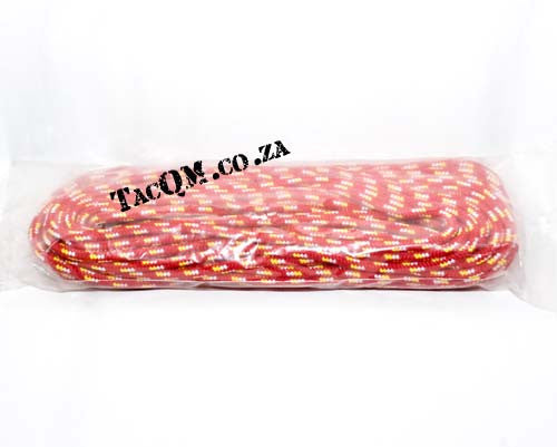 PP Outdoor Braid 10mm X 30 meters Red