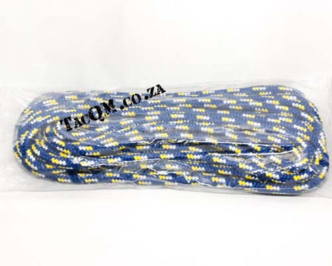 PP Outdoor Braid 8mm X 10 meters Blue