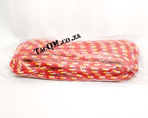 PP Outdoor Braid 10mm X 10 meters Red