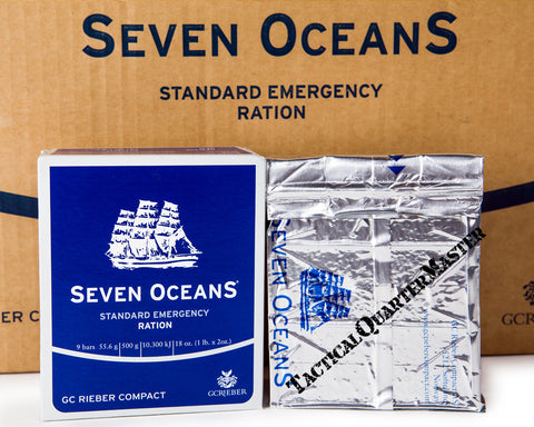 Seven Oceans Emergency Ration Single Ration.