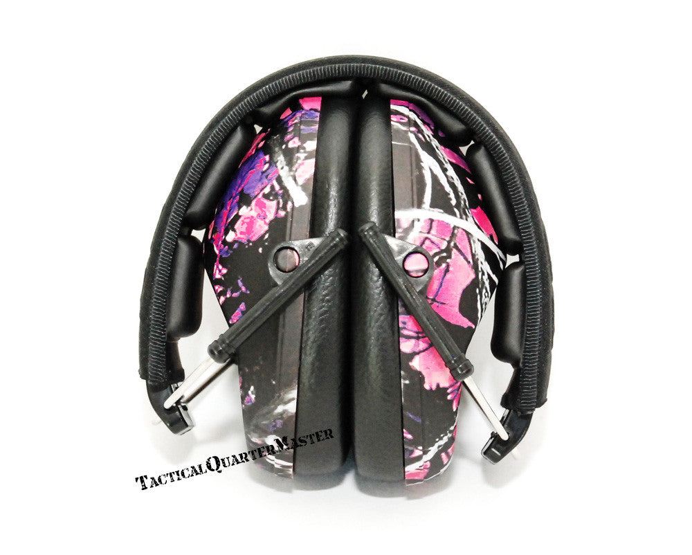 Sonic Slim Hearing Protectors-Muddy Girl Pattern