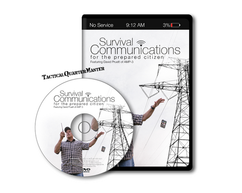 Survival Communications for the Prepared Citizen DVD