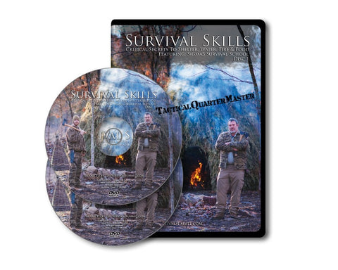 Survival Skills: 2 set DVD