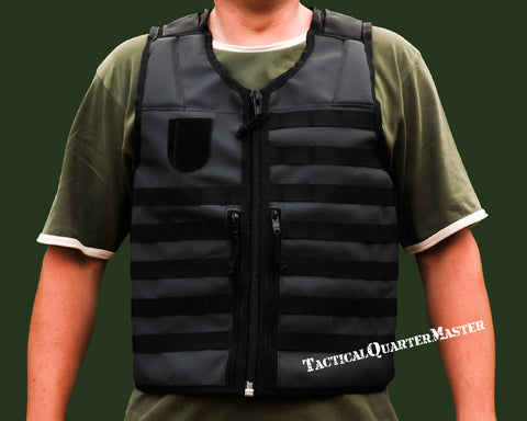 Tactical Vest-Black-Small/Medium