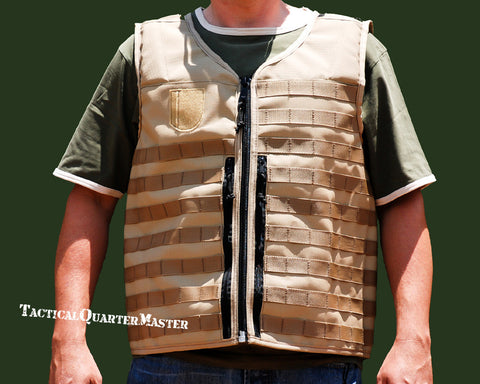 Tactical Vest-Sand -Large/XL