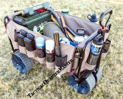 Load Bay Protector with Pockets for the The Mule: Heavy Duty Trolley