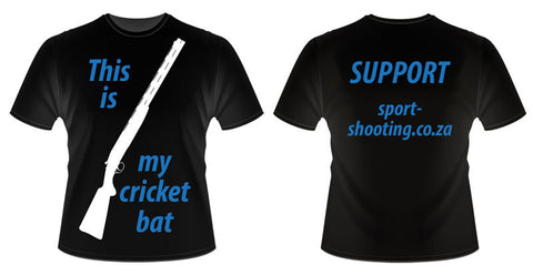 SSF T Shirt: Mens L Cricket