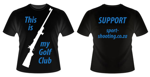SSF T Shirt: Mens L Golf