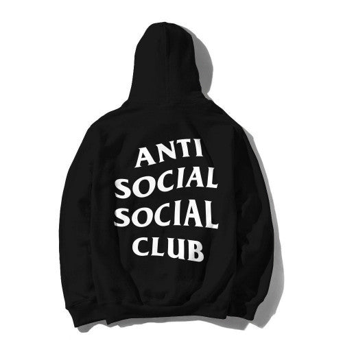 Anti Social Social Club, Mind Games Hoodie - Black