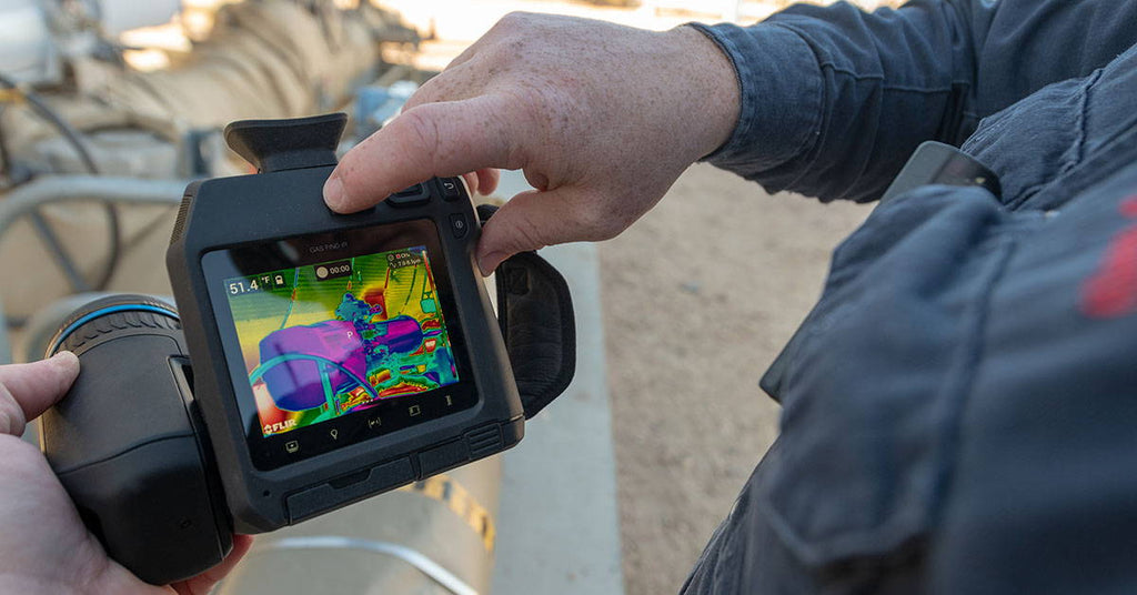 FLIR Launches Its First Uncooled Methane Gas Detection Camera