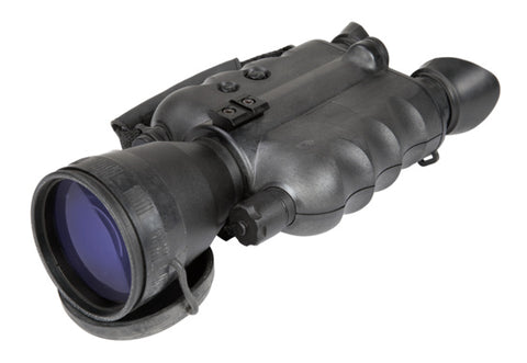 "AGM FoxBat-5 NW2i Night Vision Bi-Ocular 5x Gen 2+ ""White Phosphor Level 2"" with Sioux850 Long-Range Infrared Illuminator"