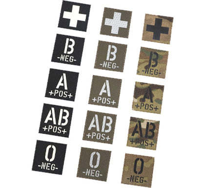 Infrared ID Mini Square Identity Patches 2.5cm x 2.5cm - 100 Pack - GoThermal
