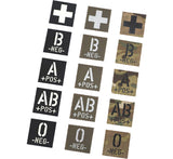 Infrared ID Mini Square Identity Patches 2.5cm X 2.5cm - 10 Pack - GoThermal