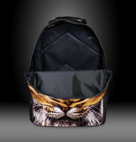Cool 3D Animal Print Backpack