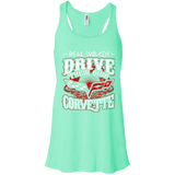 Real Women Drive Their Own Corvette - Flowy Racerback Tank