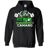This Girl Loves her Camaro - Hoodie green