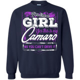 Yes I'm a Girl Yes This is My Camaro - Hoodie