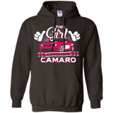 This Girl Loves her Camaro - Hoodie Pink